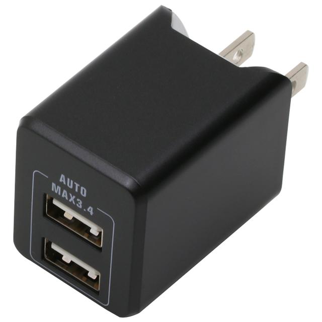 PREMIUM USB2ポートAC3.4A